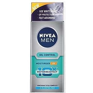 Nivea For Men Advanced Whitening Oil Control Moisturizer UV, 40ml (Pack of 2)