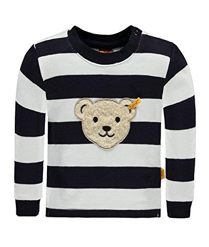 Steiff Baby-Jungen Sweatshirt 1/1 Arm, Blau (Marine 3032), 74