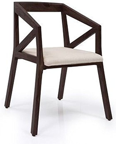 Urban Ladder Howe Howe Solid Wood Chair (Mahogany)