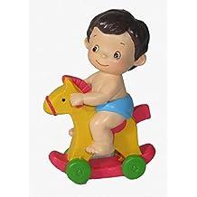 Lote de 6 Figuras Bebé Bautizo Niño