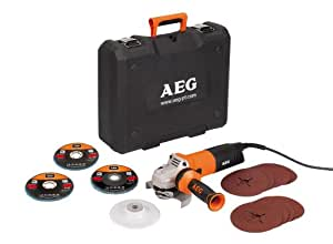 AEG WS 12-125 XE Kit meuleuse d'angle (Import Allemagne)