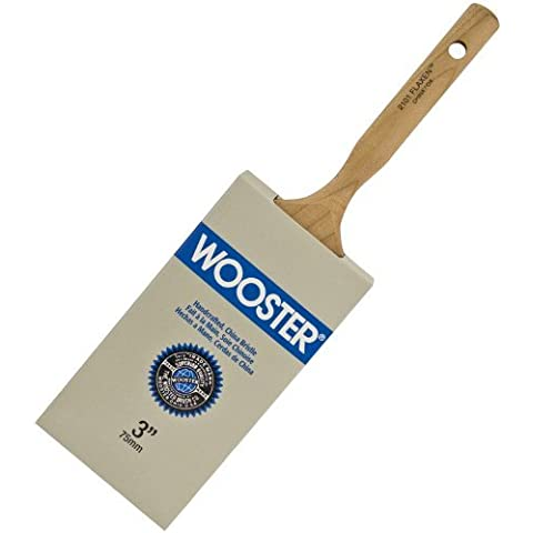 Wooster Brush 2101-3 Flaxen Paintbrush, 3-Inch by