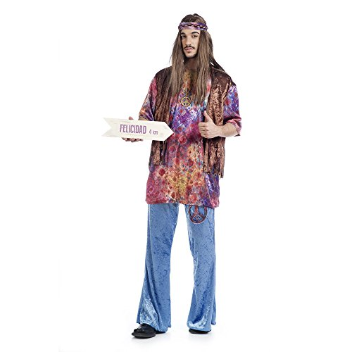 Limit Sport–Kostüm Hippie Guido, Größe XL (ma378)
