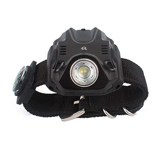 SUN EAGLE Outdoor Camping Glare LED Handgelenk Licht Taschenlampe Multifunktions Handgelenk Licht Nachtfischen Nachtlauf Fahrrad Reiten Licht (Best-uhren Für Läufer)