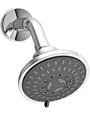 ALTON SHR20860 ABS 5-function Overhead Shower with Arm and Wall Flange (Chrome)