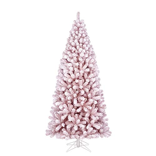 Black Box Trees Cembra Weihnachtsbaum Tips 1247-h230xd107cm, PVC, rosa, Frosted, 230 -