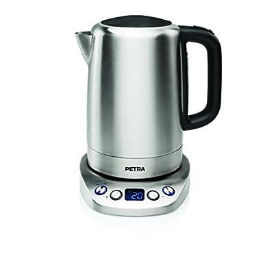 Petra Electric 58.236002.01.001 Bouilloire avec Thermostat WK 54.35 23,40 x 16,60 x 26,60 cm