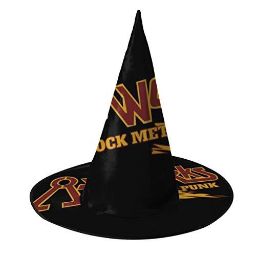 Wayne's Wayne World Kostüm - NUJIFGYTCRD Gasworks Rock Metal Punk Waynes World Hexenhut Halloween Unisex Kostüm für Urlaub Halloween Weihnachten Karneval Party