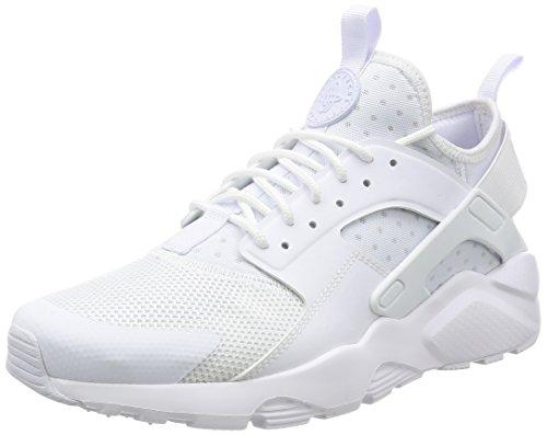 Nike Air Huarache Run Ultra, Zapatillas de Running para Hombre, Blanco (White/White/White), 46 EU
