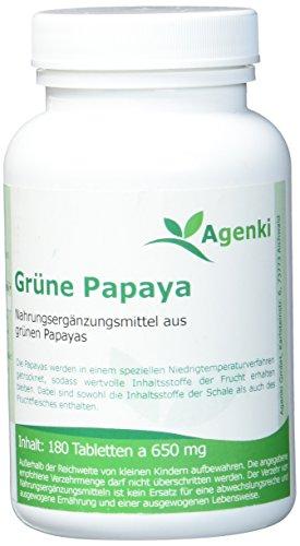 Agenki Grüne Papaya (Enzyme) - 180tab