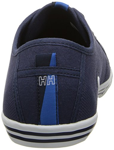 Helly Hansen - Oslo Fjord Canvas, Senakers a collo basso da donna Azul / Blanco (597 Navy / White)