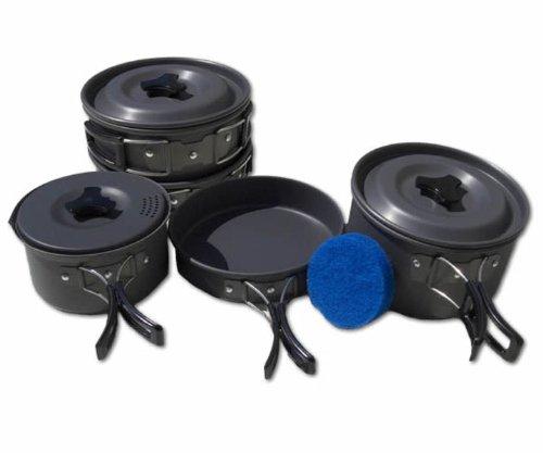 Trakker Armolife Three Piece Cookware Set - Carp Pike Fishing Cooking Equipment