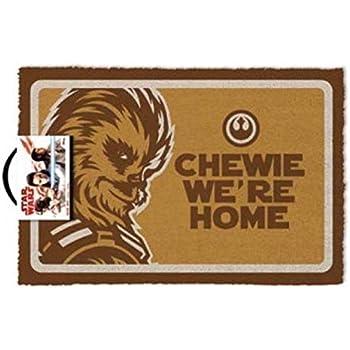 SD TOYS Star Wars Zerbino Marrone Fibra di Cocco Decorazione del Focolare Motivo: Yoda do Oro do Not