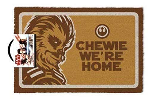 Pyramid International Felpudo Star Wars Chewie were Home, 60X40