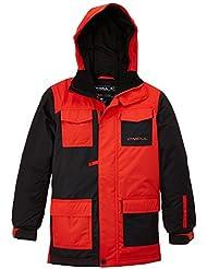 O'Neill Pb Jester Jacket - Chaqueta de esquí para niño, color rojo, talla FR: FR : 12 mois (Taille Fabricant : 152)