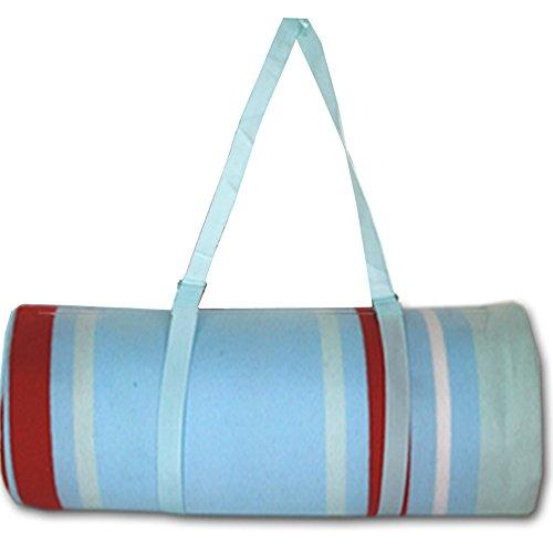XXL Picknickdecke von JEMIDI Riesen 200cm x 200cm (4m²) Campingdecke Schwimmbaddecke Strand Reise Decke Matte Strandmatte Campingmatte XL Stranddecke (Streifen)