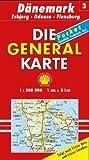 Die Generalkarten Dänemark, Bl.3, Veijle, Odense, Flensburg (Maßstab 1:200.000) -
