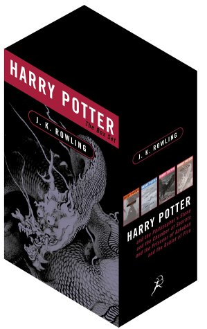 Harry Potter Adult PB Boxed Set x 4: Bk. 1-4 por J. K. Rowling