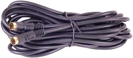 Cables 4 All S-Video-Kabel (vergoldete Steckverbindungen, Länge: 10 m)