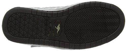 Alte KangaROOS Sneaker Argento Silber silver blk Donna Moonwalker 950 x767pw