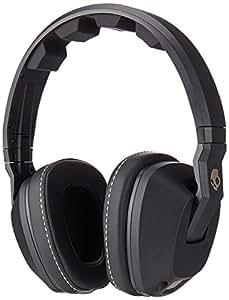 Skullcandy Crusher Over-Ear Audio Headphones with Mic - Black