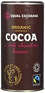 Equal Exchange Organic Cocoa Fairtrade 250 g (Pack of 2)