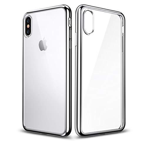 Schütze Dein iPhone, Essential Twinkler Series Ultra-dünnen Transparenten Weichen TPU Case für iPhone X Für iPhone Handy. (Großauswahl : Ipxg0233s)