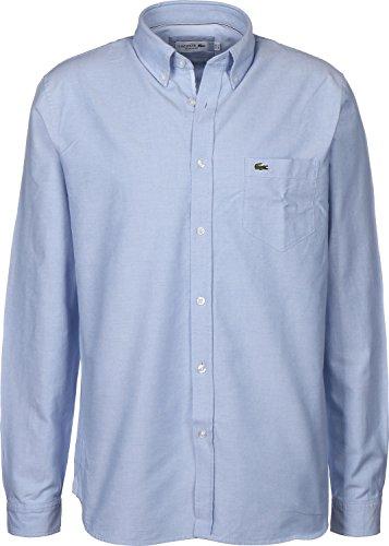 Lacoste Sport Oxford Langarmhemd Hemisphere Blue