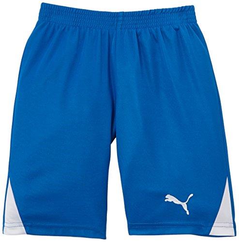 PUMA Kinder Hose Team Shorts without Inner Slip, Royal/White, 152, 701275 02
