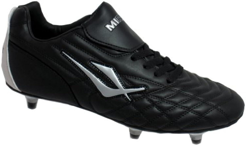 Mirak Forward Screw in Sports Boot Black Size 7