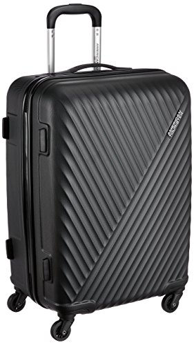 American Tourister Skyrock ABS 75 cms Black Hardsided Check-in Luggage (AMT SKYROCK SP 75 cm Black)
