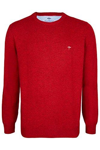 FYNCH-HATTON Rundhals Pullover 1217-800 Crimson
