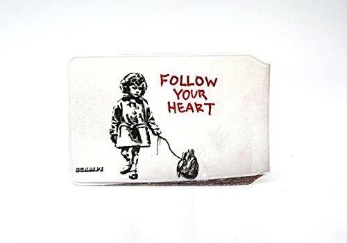 SCAMPI Follow Your Herzen Oyster Karte Halter