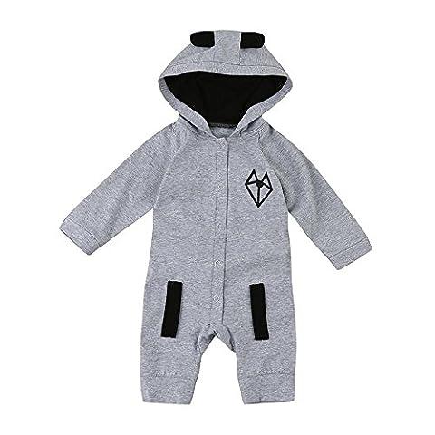 HLHN Kapuzenpullover Pullover Sweatshirts Baby Mädchen Kinder Junge Herbst Jacke Hooded Kapuzen (Hood 26 Bogen)