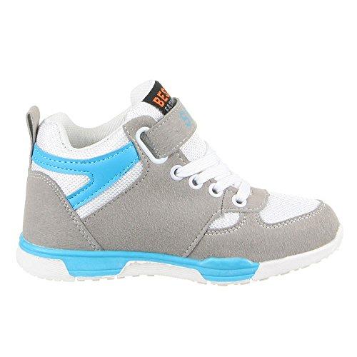 K pour enfants, chaussures de loisir à 5 Multicolore - Weiß Multi (25-30)