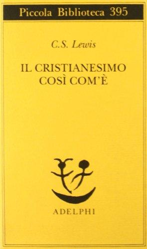 Il cristianesimo cos com'