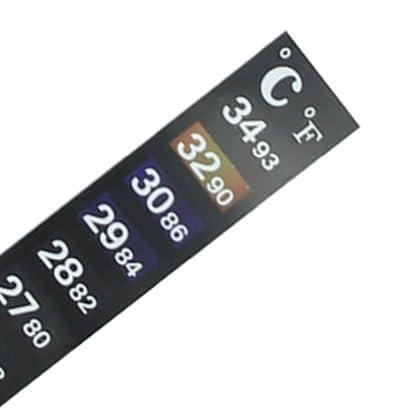 HeroNeo® Aquarium Fish Decal Tank Digital Thermometer Sticker [Misc.] 3