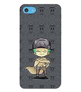 EPICCASE Little Robinhood Mobile Back Case Cover For Apple iPod Touch 6 (Designer Case)