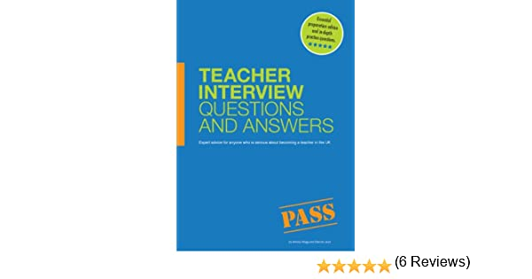 teacher interview questions and answers