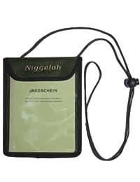 Niggeloh - Funda para licencia de cazador
