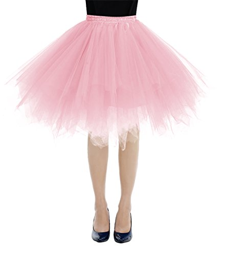 bbonlinedress Kurz Retro Petticoat Rock Ballett Blase 50er -