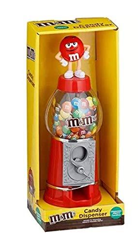 M&M Chocolate Candy Dispensador de máquina y dinero banco 9