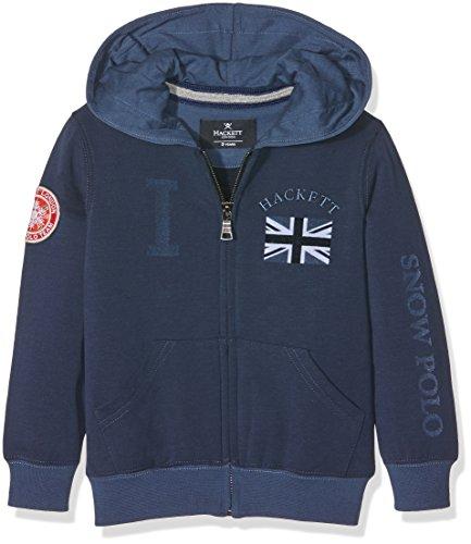 Hackett Clothing Snow Full Zip Youth, cappuccio Bambino, Blu (Navy), Y15(UK)