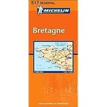 Carte routière : Bretagne, N°11517