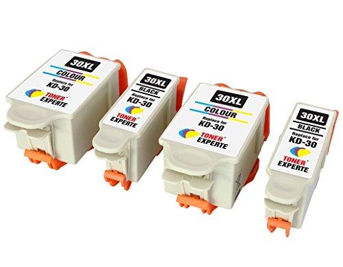 Pack 4 XL TONER EXPERTE® Compatibles Kodak 30XL 30B