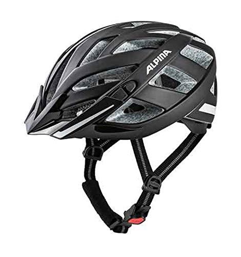 Alpina Erwachsene Panoma 2.0 City Fahrradhelm, black reflective, 56-59 cm