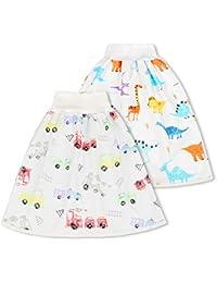AolsteCell - Falda de pañal para bebé o niño, falda de entrenamiento reutilizable para un buen sueño