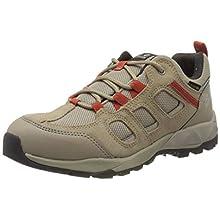 Jack Wolfskin Women's Vojo Hike Xt Texapore Low W Rise Shoes, Beige (Clay/Orange 8888), 5.5 UK
