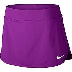 Nike Nkct Pure Falda, Mujer, Morado (Vivid Purple / White), XS