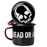 DEAD OR ALIVE Emaille Tasse 350 ml